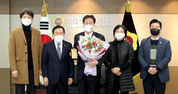 최장혁 인천광역시행정부시장 이임 감사패 전달식