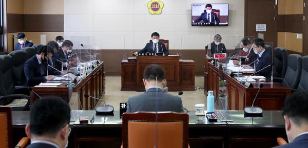 제269회 인천광역시의회 임시회 제2차 산업경제위원회 사진