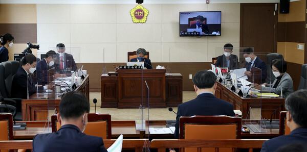제270회 인천광역시의회 임시회 제1차 행정안전위원회