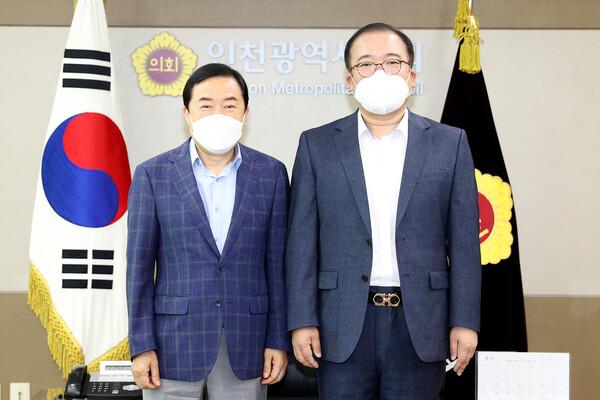 김철우 남동경찰서장 접견