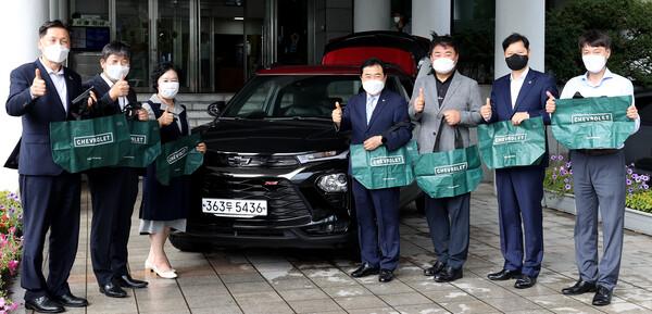한국GM과 함께하는 생명을 지키는 일 지구를 지키는 친환경 캠페인 대표 이미지